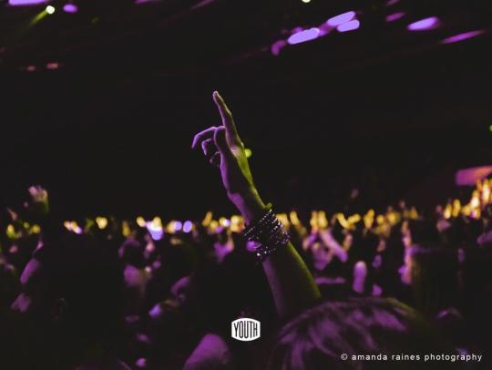 Hands up / Heart open