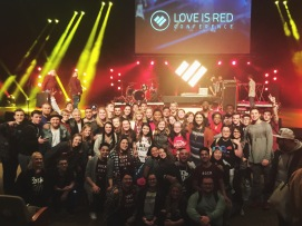 """""""Day 2 of #LIRConf is in the books and OH EM GEE - these moments are now memories that we will keep and return to often for the REST of our LIVES. God winked at Rock City Youth tonight and has given us a peek into what is to come: the best."""" -Pastor Amanda"""