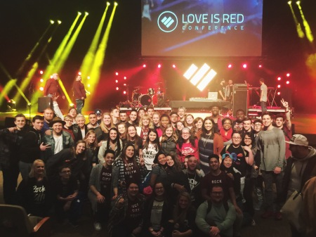 """Day 2 of #LIRConf is in the books and OH EM GEE - these moments are now memories that we will keep and return to often for the REST of our LIVES. God winked at Rock City Youth tonight and has given us a peek into what is to come: the best."" -Pastor Amanda"
