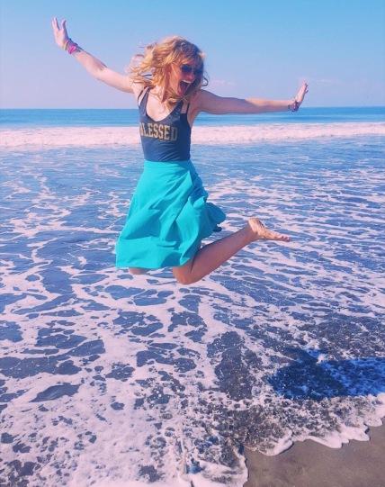 BEACH BIRTHDAY! I finally got to celebrate my usually frigid birthday on the beach!